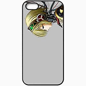 Personalized iPhone 5 5S Cell phone Case/Cover Skin Persona 4 Arena Aigis Black by icecream design