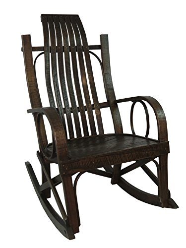 BARN WOOD BENTWOOD ROCKER