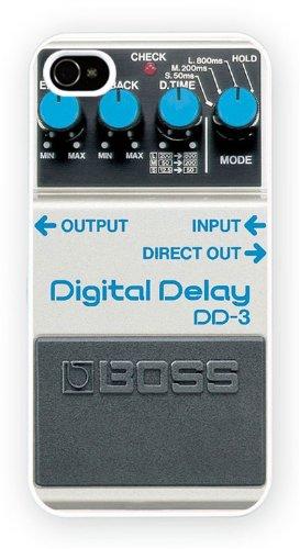 Boss DD3 Delay, iPhone 4 4S, Etui de téléphone mobile - encre brillant impression