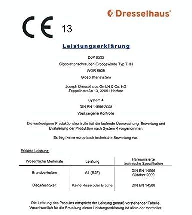 Menge und Art individuell w/ählbar Rigipsschrauben Schnellbauschrauben Trockenwandschrauben phosphatiert Bohrspitze d: 3,5mm, l: 25mm, 1 St/ück