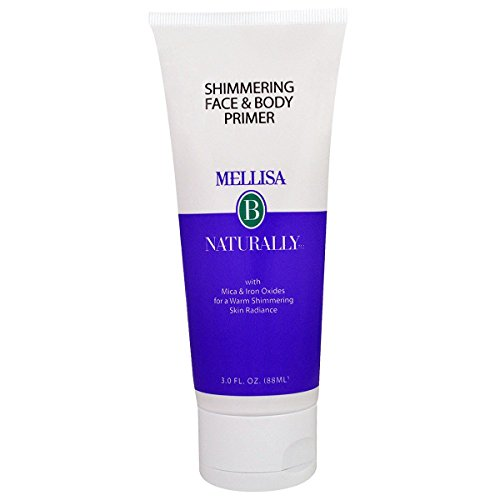Holly Shimmering - MELLISA B NATURALLY Shimmering Face & Body Primer, 0.02 Pound