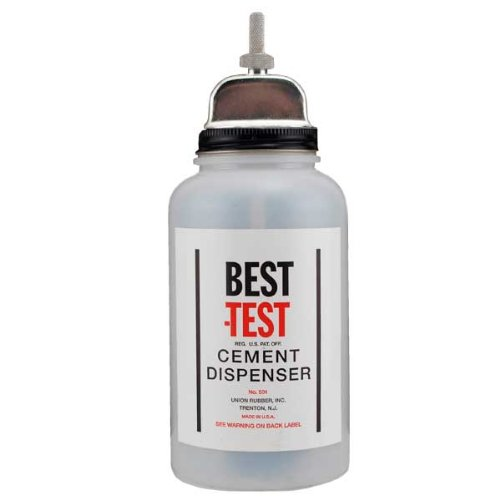 Best-Test Plastic Cement Dispenser 16 - Jar Glue