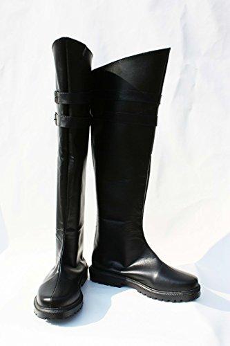 Final Fantasy VII FF7 Genesis Rhapsodos Cosplay Shoes Boots Custom Made CvQg5Lnr