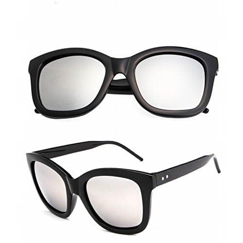 a21957a68a Gafas de Sol Polarizadas para Hombre Gafas Metálicas Mercurio Blanco Y  Negro Brillante Buena
