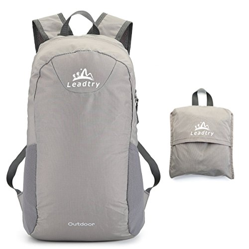LeadTry Lightweight Packable Backpack Resistant