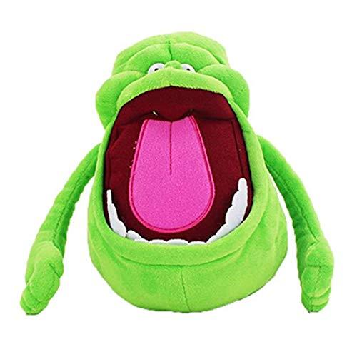 Jennyus Ghostbusters Slimer Medium Plush Toys Dolls Cute Soft Stuffed Cartoon Plush Doll Toy for Christmas 19cm -