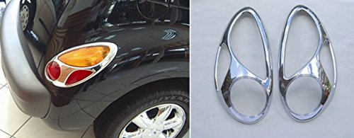- PT Cruiser Chrome Tail Light Covers 2001, 2002, 2003,2004, 2005, 2006, 2007, 2008, 2009, 2010