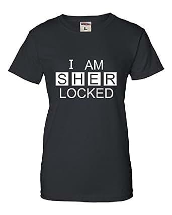 Amazon.com: Womens I Am Sherlocked Sherlock Holmes ... I Am Sherlocked Shirt