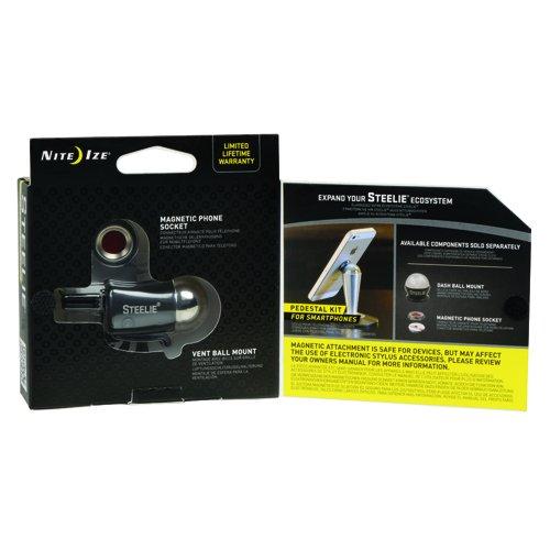 Nite Ize Original Steelie Vent Mount Kit-  Magnetic  Car Vent Mount for Smartphones by Nite Ize (Image #4)'