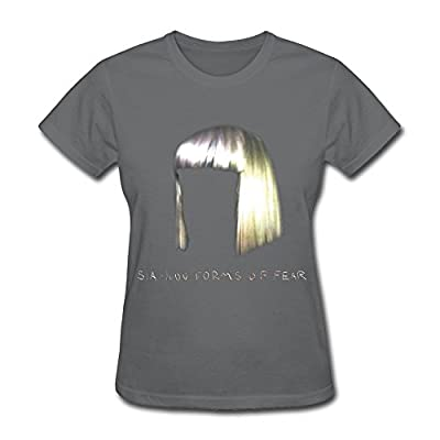 PAYYAND Women's 1000 Forms Of Fear Sia T-shirt