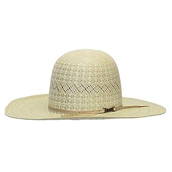 62b43f759ef77 Amazon.com  American Hat Company 4.25 Brim Open Crown with Drilex Straw Hat   Clothing