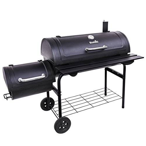 (Char-Broil Deluxe Offset Smoker, 40