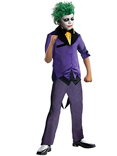 Rubies DC Super Villains The Joker Costume, Child Medium ()