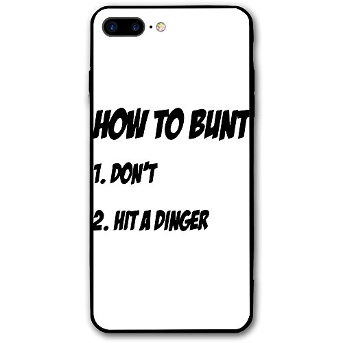 ZhiqianDF How To Bunt Funny Baseball Fastpitch Softball IPhone 8 Plus Case 5.5