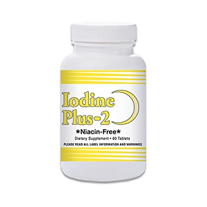 Iodine Plus 2 -Thyroid MD's Official Formula - 2 Month Supply - 60 Tablets  - for Thyroid Support
