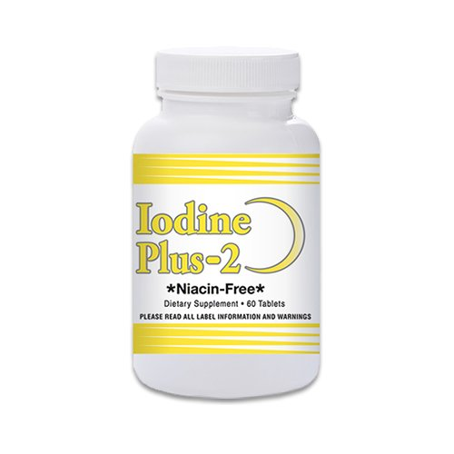 - Iodine Plus 2 -Thyroid M.D.'s Official Formula - 2 Month Supply - 60 Tablets - for Thyroid Support