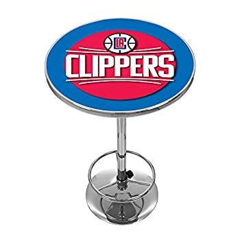 Image of Bar Tables NBA Los Angeles Clippers Chrome Pub Table