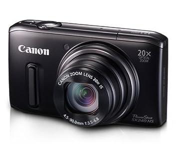 """Canon SX240 HS - Cámara compacta de 12.1 MP (Pantalla de 3"""", Zoom"""