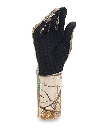 Under Armour Men's ColdGear Camo Liner Gloves, Realtree Ap-Xtra/Dynamite, Medium by Under Armour (Image #1)