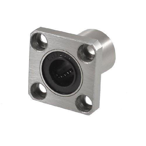 eDealMax bujes Con bridas Plaza Largo de rodamiento lineal DE 12 mm x 21 mm x 30 mm