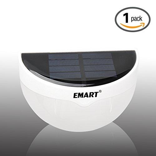 Emart-New-Outdoor-Solar-Power-Led-Wall-Path-Garden-Fence-Lamp-Waterproof-Light