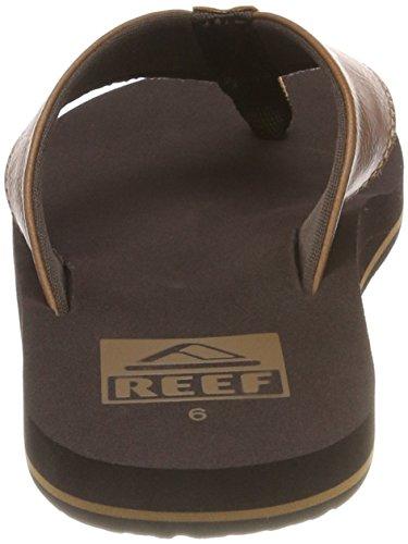 Reef Correa Brown Tobillo Hombre con Twinpin para Sandalias de Marrón rxqwHrFPt