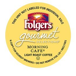 48 Count - Folgers Gourmet Selections Morning Cafe Coffee For Keurig Brewers