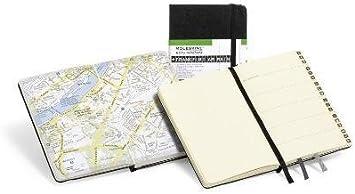 Pocket Moleskine City Notebook 3.5 x 5.5 Hard Cover Frankfurt Black