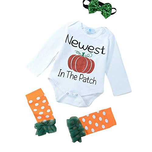 Halloween Costume Newborn Baby Girls Newest Pumpkin in