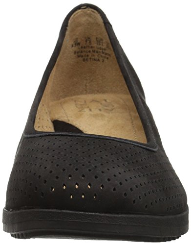 Women's 2 Tumbled Betina Naturalizer Black Pump YBdgEqw