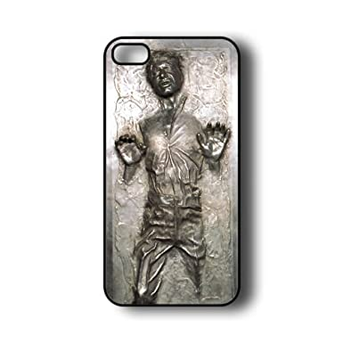 best loved 3bdb0 dba89 Han Solo Carbonite iPhone 5 Case - Fits iPhone 5 (Flat Back): Amazon ...