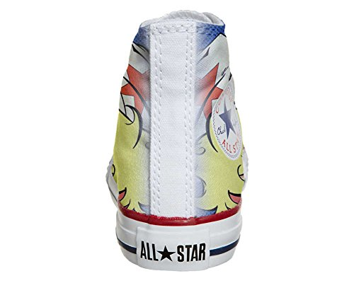 Converse All Star chaussures coutume mixte adulte (produit artisanal) Hurricane