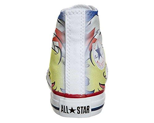 Scarpe Converse All Star Personalizzate scarpe Artigianali Hurricane