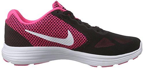 hyper 3 black Pink Running Wmns De Rosa Nike Para Revolution Zapatillas Mujer White Tx7zwfEq