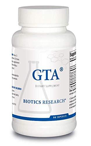 Biotics Research GTA – Endocrine Glands Support, Promotes Optimal Hormonal Balance. Contains Porcine Glandular, Phytochemically Bound Trace Elements Selenium, Rubidium, SOD, Catalase 90 Caps