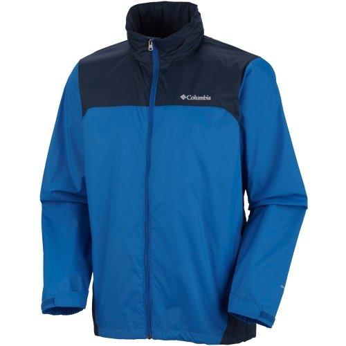 Men's Big & Tall Glennaker Lake Packable Rain Jacket (Blue Jay/ Navy, 4XL) by Columbia
