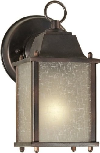 - Forte-1LT Cast Al Outdoor Lantern-1755-01-32