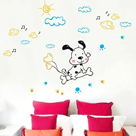 Amazon.com: Domire (Snoopy) Wall Decal Decor Sticker Removable ...