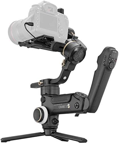 Zhiyun Crane 3S [Official] Smartsling Kit 3-Axis Handheld Gimbal Stabilizer for DSLR Cameras and Camcorder (with Smartsling Handle)