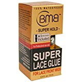 BMB SUPER LACE GLUE ADHESIVE 0.5 OZ STRONG HOLD LACE FRONT WIGS (1 PACK)