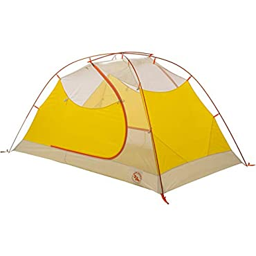 Big Agnes Tumble 2 mtnGLO 2 Person Backpacking Tent-Yellow/ Grey-2 Person (TT2MG18)