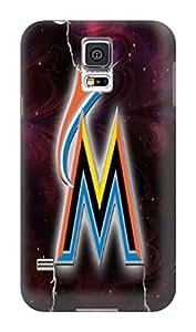 DIY MLB Miami Marlins Pretty Hard Cover Case For Samsung Galaxy S5