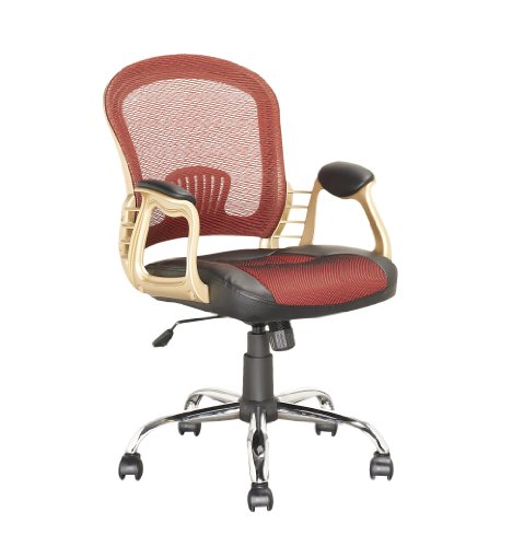 CorLiving LOF-258-O Ergonomic 360 Degree Swivel Workspace Ex