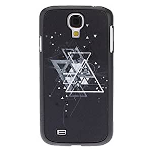 Overlapped Triangle Pattern Hard Case for Samsung Galaxy S4 I9500