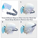 Mask Ear Strap Hook Adjustable, 16 Pcs Mask Ear
