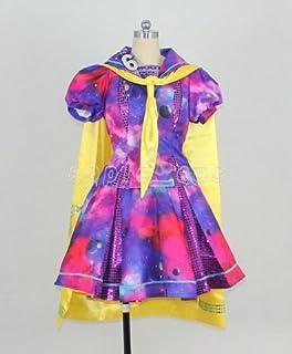 【apple_cos】私立恵比寿中学 宇宙柄衣装 仮装 コスプレ衣装 女性XS