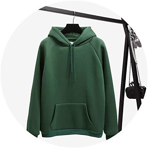 (Women Fleece Hoodies Sweatshirts Hoody Pullovers 2019 Girl Loose Tracksuit Tops,HD0309,XL)