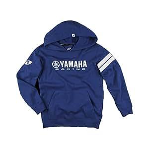 One Industries Boys Yamaha Stripes Hoody Pullover Sweatshirt, Blue, Small