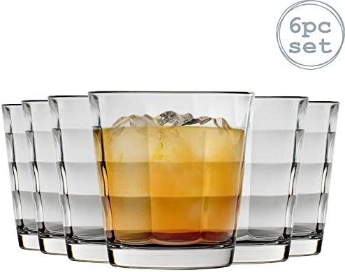 Vasos de bebidas alcohólicas Bormioli Rocco Cubo de cristal clara - 240 ml - Pack de 6: Amazon.es: Hogar