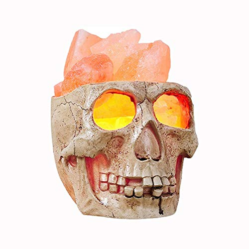 2021 New AMIR Skull Himalayan Salt Lamp
